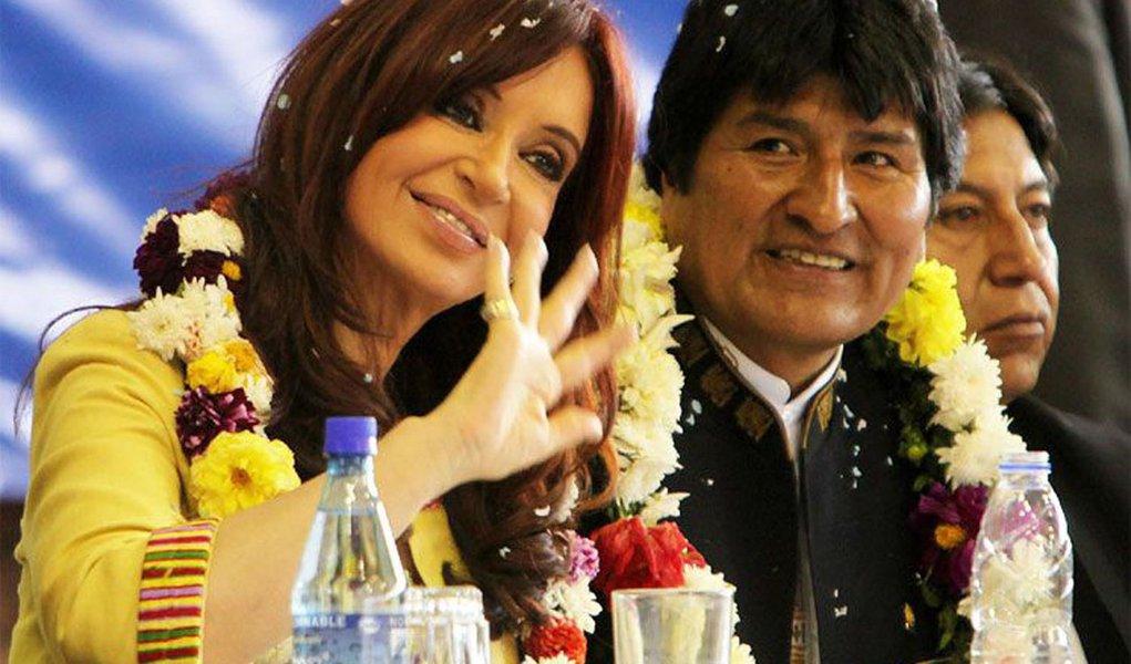 Presidentes sul-americanos cumprimentam Maduro pela vitória