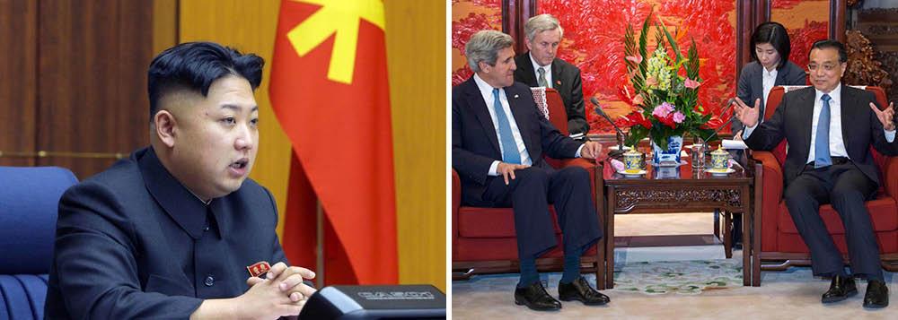 """EUA e China concordam em """"desnuclearizar"""" a Coreia do Norte"""