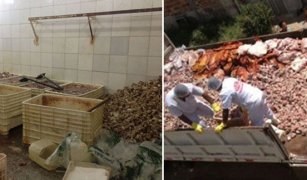Polícia apreende 30 toneladas de carne ilegal