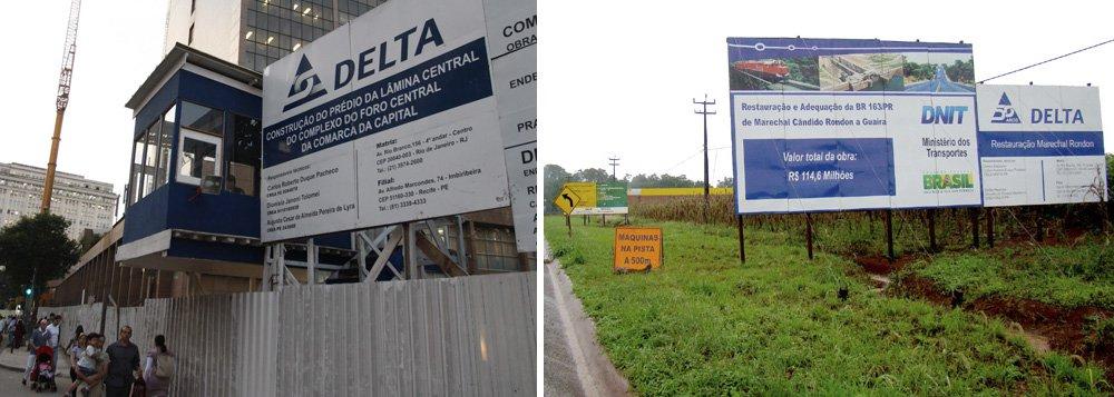 Inidônea, Delta quer voltar às licitações; MPF é contra