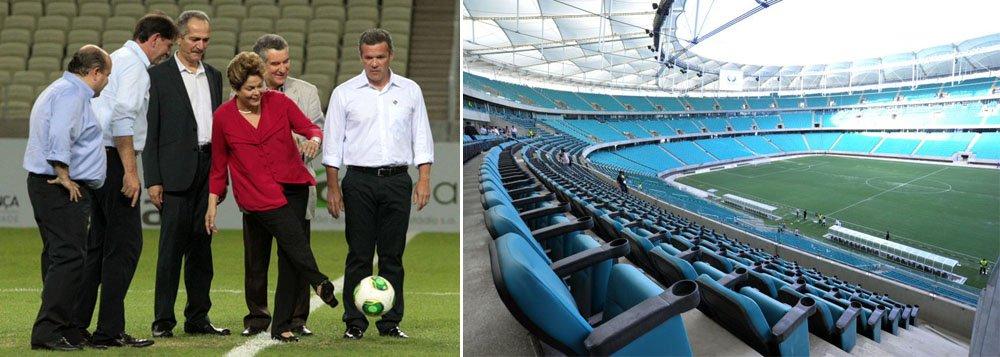 Dilma inaugura Arena Fonte Nova nesta sexta
