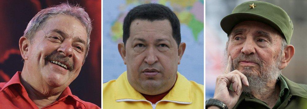 Lula começa a ocupar o espaço de Chávez e Fidel