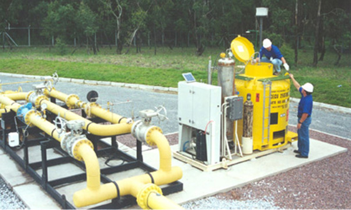 Camamu: maior produção de gás natural do Brasil