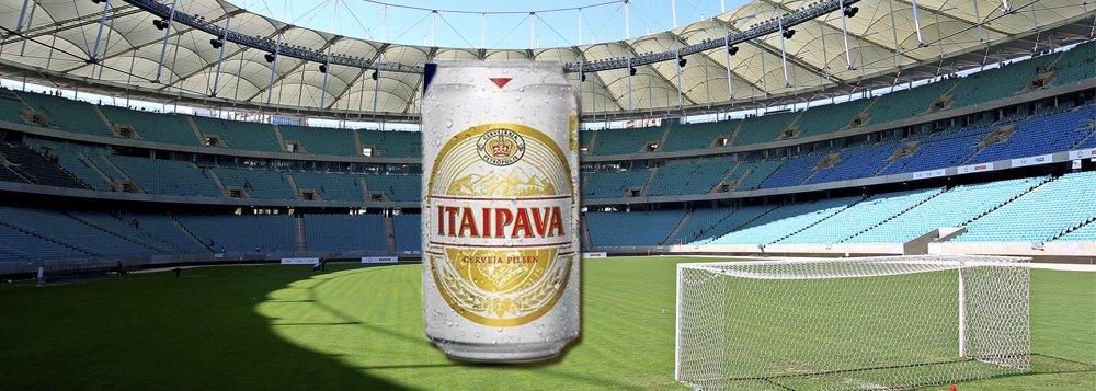 Por R$ 10 mi, estádio será Itaipava Arena Fonte Nova