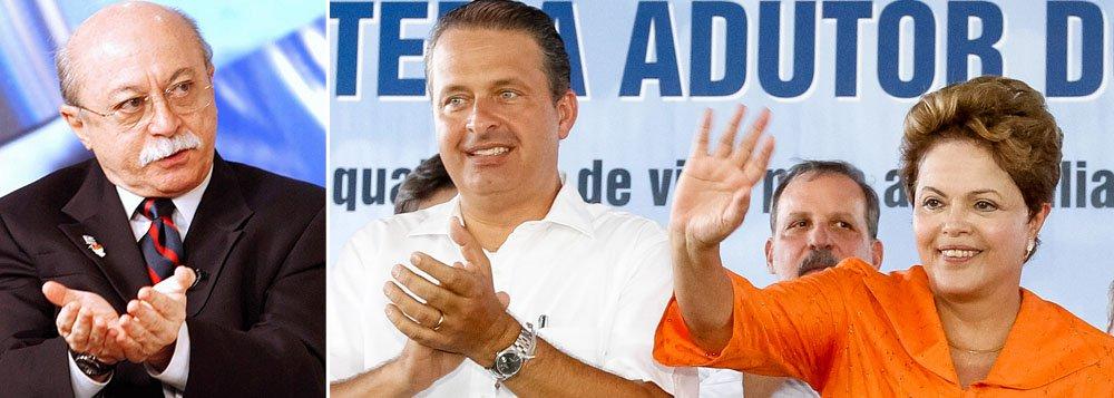 Vice do PSB: Campos não fará oposição a Dilma