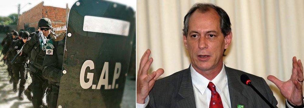 Ciro Gomes consultor ou secretário de segurança?