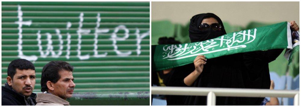 Arábia Saudita pode acabar com anonimato no Twitter