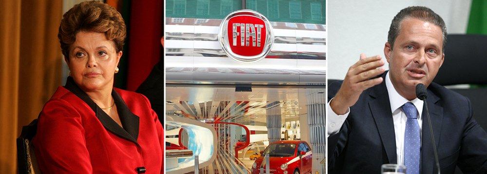 Fiat quer evitar ficar no meio de briga PT X PSB