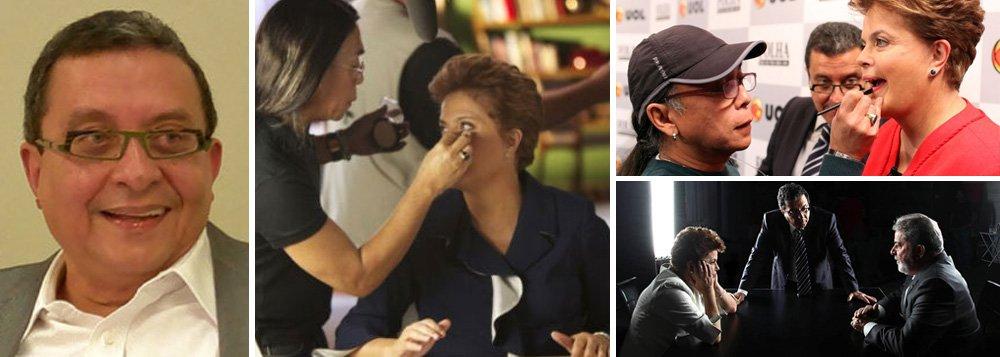 Santana monta imagem de Dilma em marcas próprias