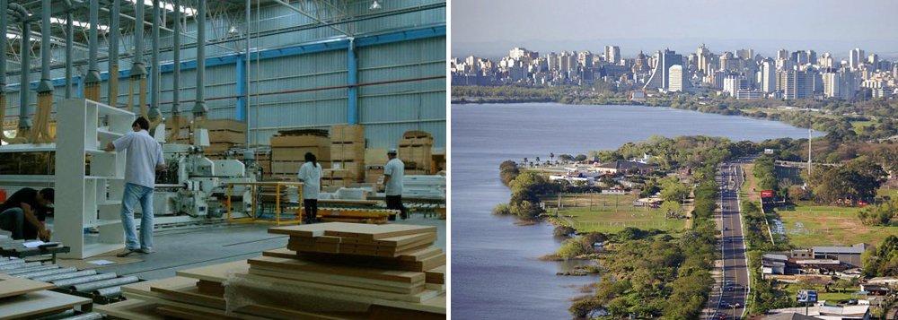 Porto Alegre registra taxa positiva de emprego