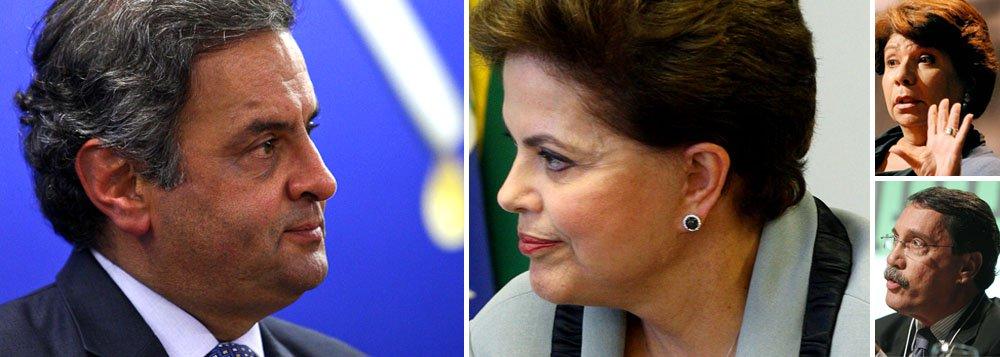 """De Aécio a Dora Kramer: """"Dilma não é boa gestora"""""""