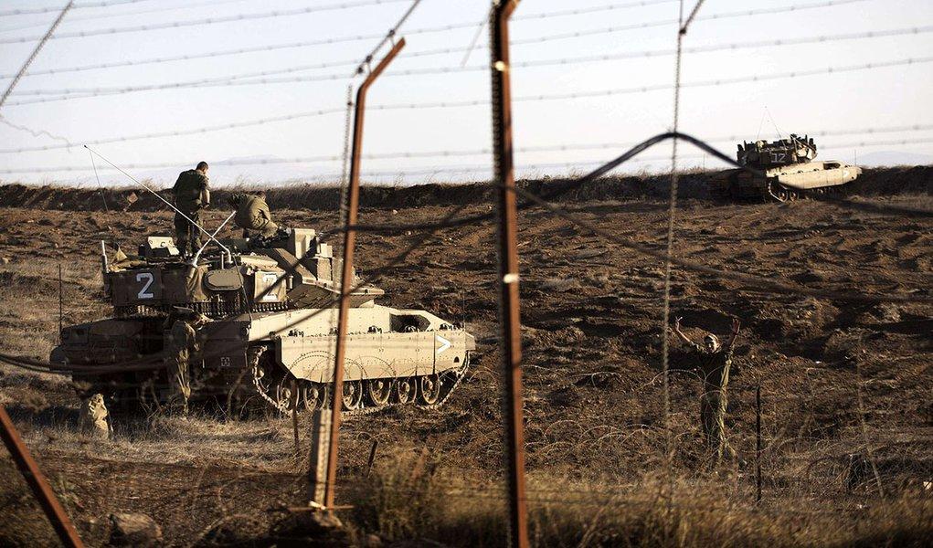 Israel responde a disparos na direção da Síria
