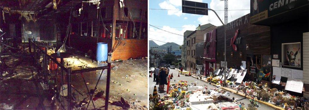 Santa Maria: Ato público lembra 2 meses da tragédia