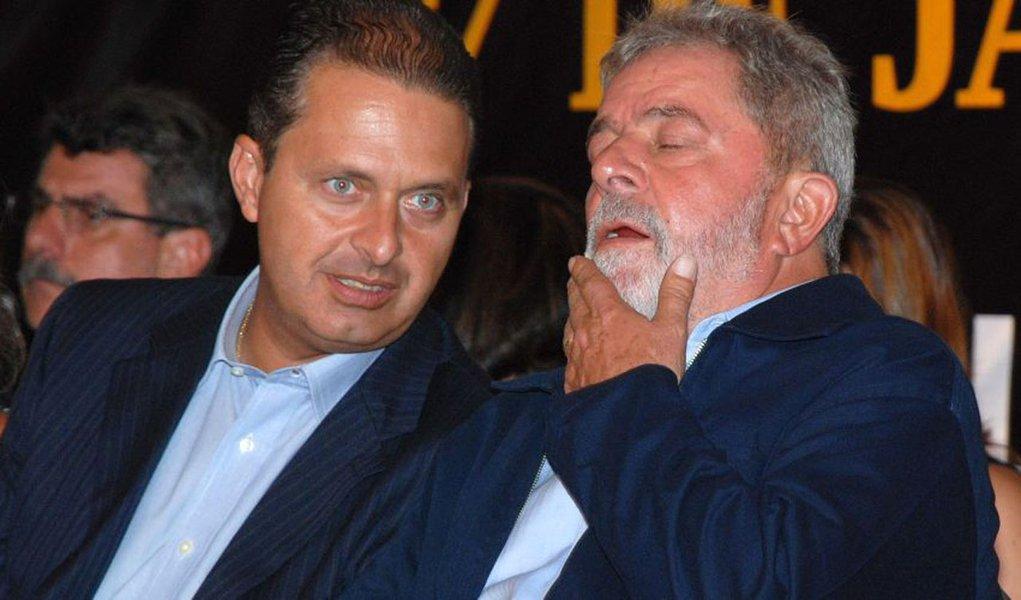 Lula diz não interferir se Eduardo for candidato