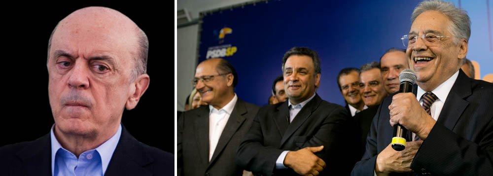 Serra pode concorrer a governador, teme Alckmin