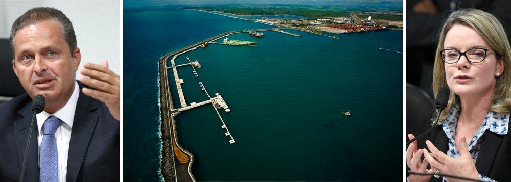 Campos quer Suape fora de novas regras dos portos
