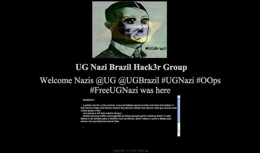 Hackers invadem site do TRF 5ª Região