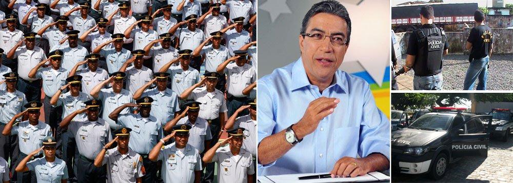 Governo fará concurso para as polícias Civil e Militar e perícia neste ano