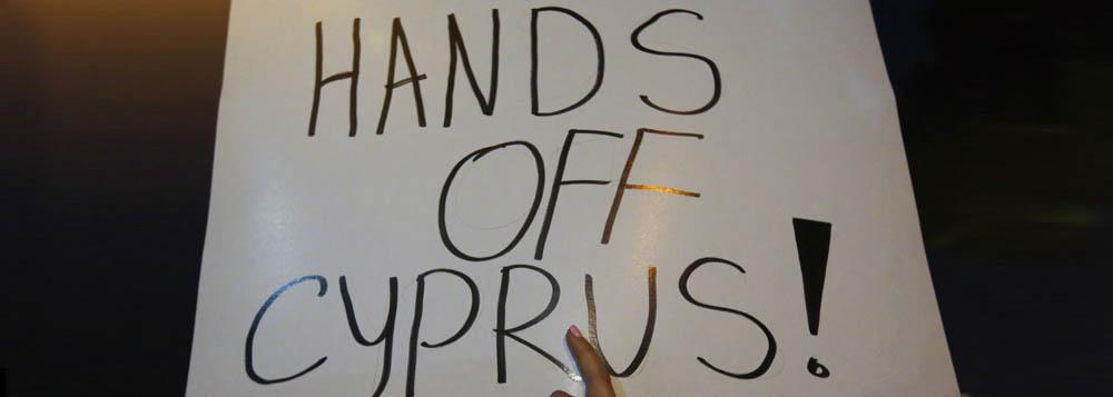 Chipre cogita taxar grandes depósitos
