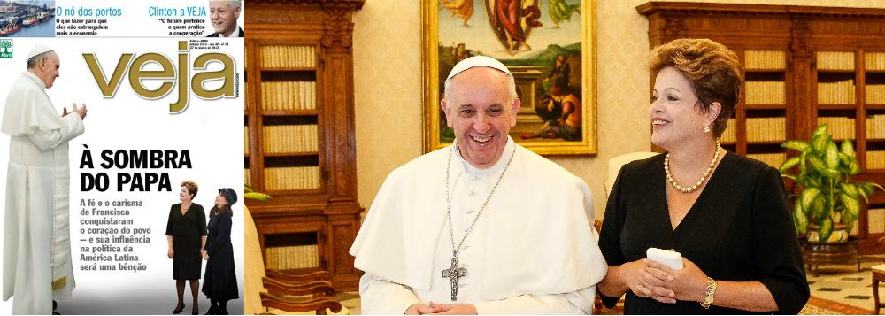 Veja já apela até para o papa Francisco