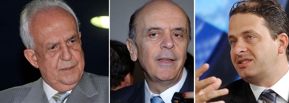 Jarbas quer José Serra apoiando Eduardo Campos