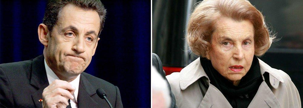 Sarkozy é indiciado em caso da L'Oréal