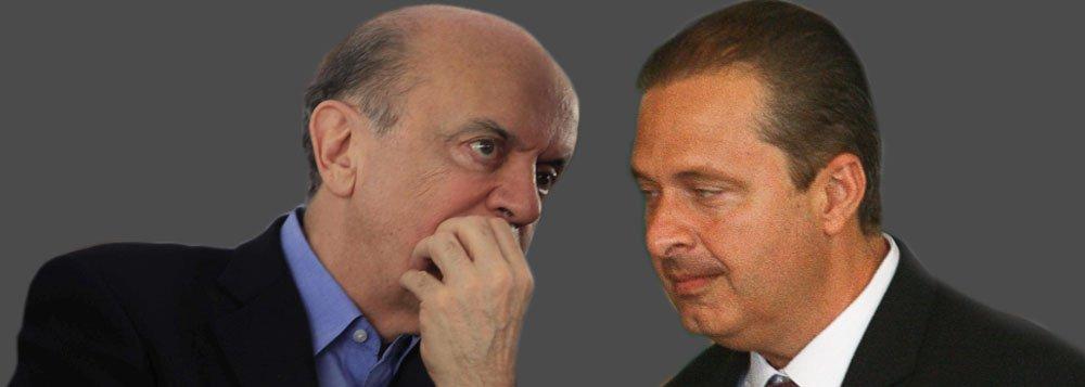 Campos faz com Serra seu movimento mais arriscado