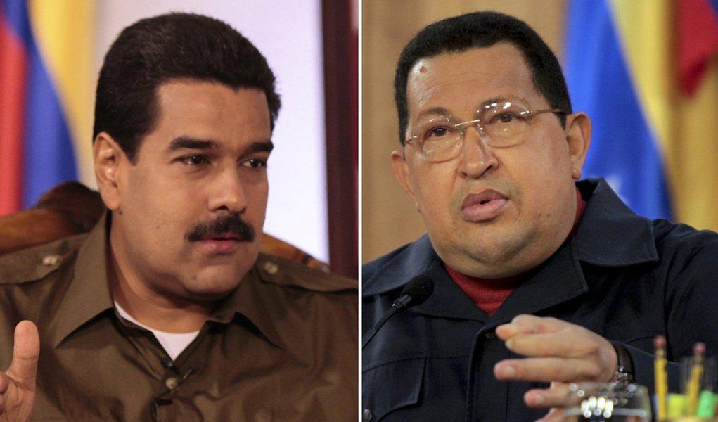 Maduro diz o nome de Chávez 200 vezes por dia