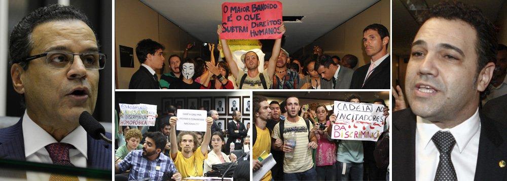 """Alves: situação de Feliciano é """"insustentável"""""""