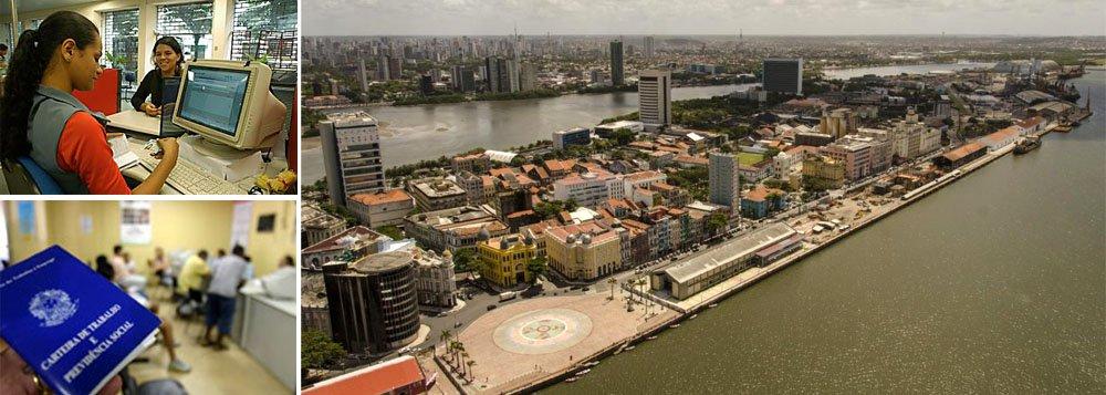 Oferta de empregos cai em Pernambuco