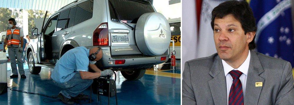 Câmara aprova fim da inspeção veicular para carros novos em SP