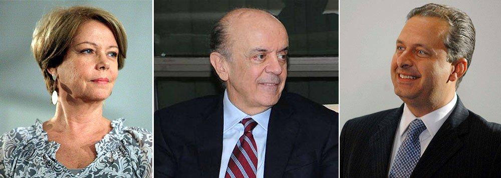 Campos teve encontro secreto com José Serra
