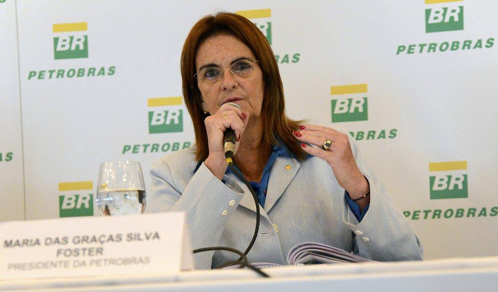 Graça Foster vai ao Senado defender Petrobras