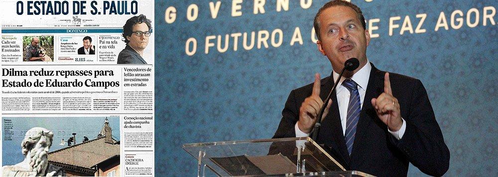 Até Campos nega ser discriminado por Dilma