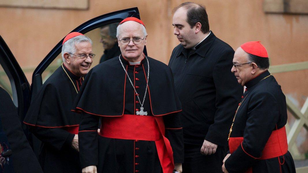 Papabile, dom Odilo celebra missa em Roma