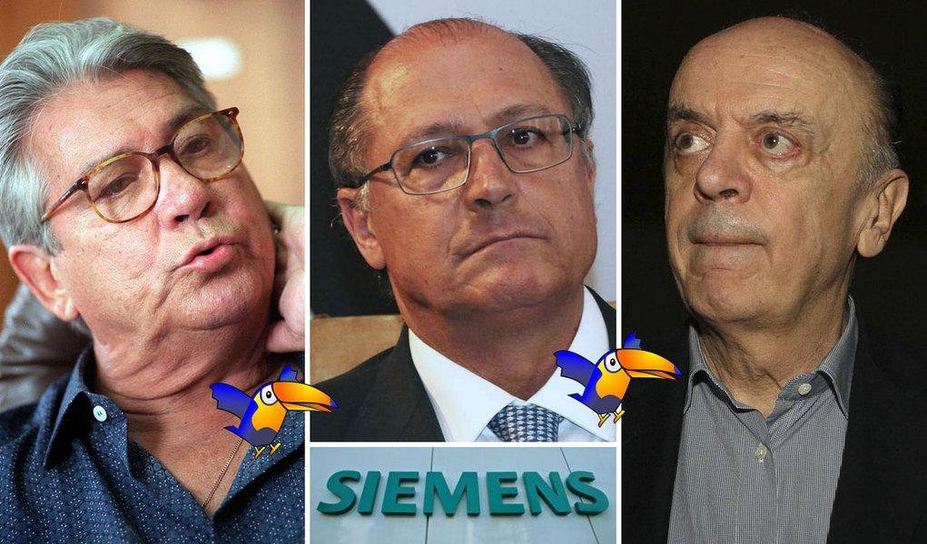 """Alckmin: """"Estão enxovalhando o Covas"""""""