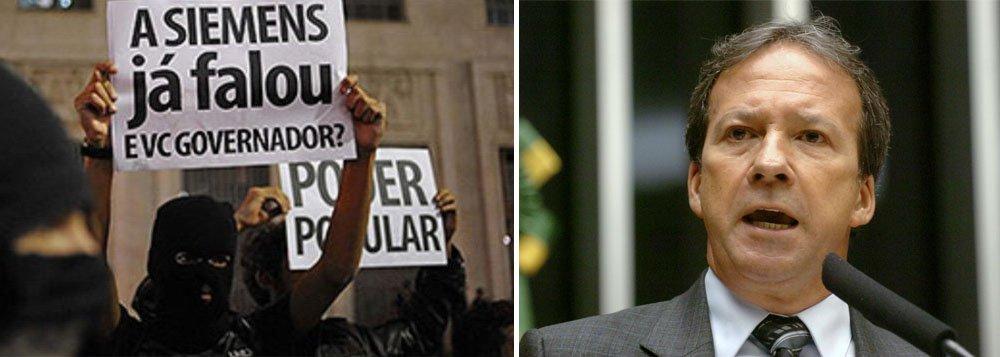 Caso Siemens: Cade rebate Alckmin