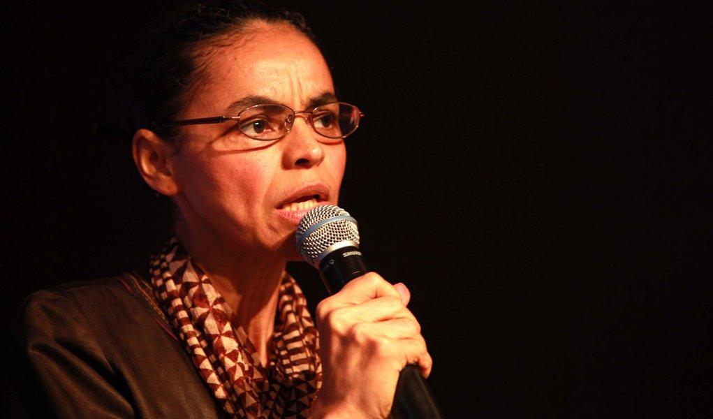 Marina sobre governo: falta de rumo disfarçada com marketing