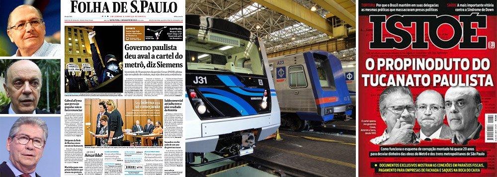 Siemens: governo de SP deu aval a cartel do metrô