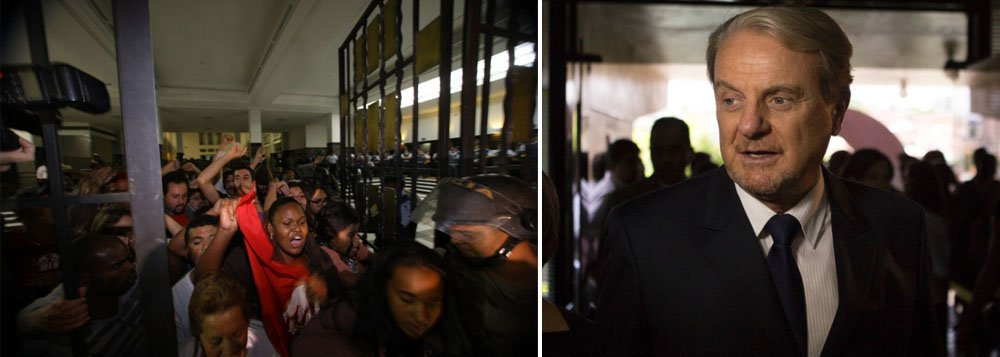Manifestantes deixam prefeitura de BH após acordo