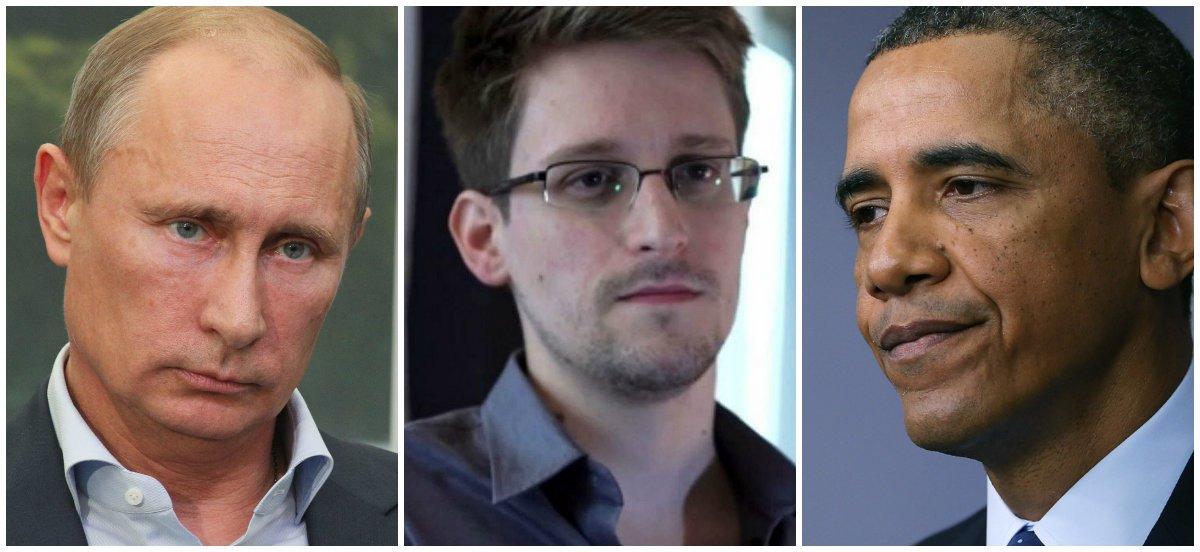 Rússia peita EUA e dá refúgio a Snowden