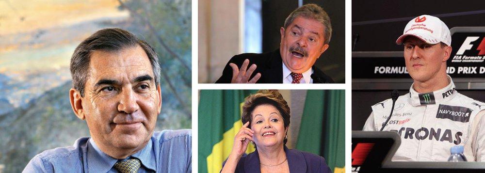 """Gilberto: """"Lula sabe do risco Schumacher"""""""