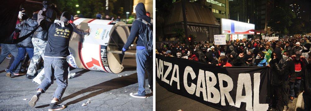 Alckmin: PM não demorou a agir contra vandalismo