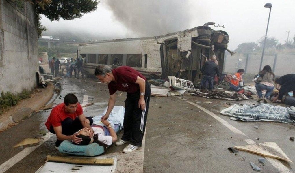 Há um brasileiro entre mortos de acidente de trem