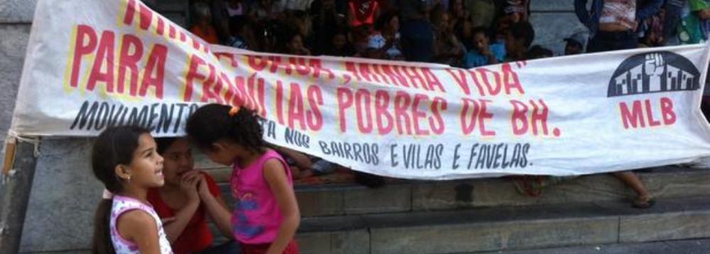 Manifestantes ocupam prefeitura de Belo Horizonte