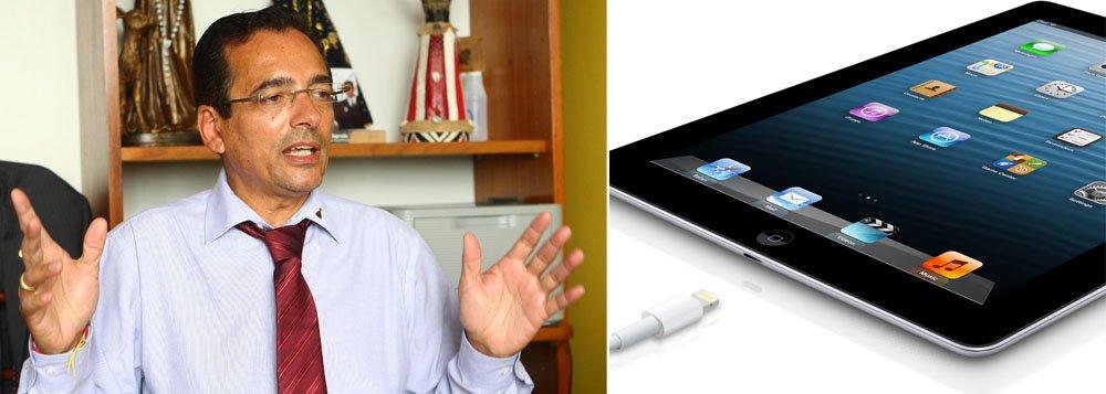 Protógenes para voo em busca de iPad