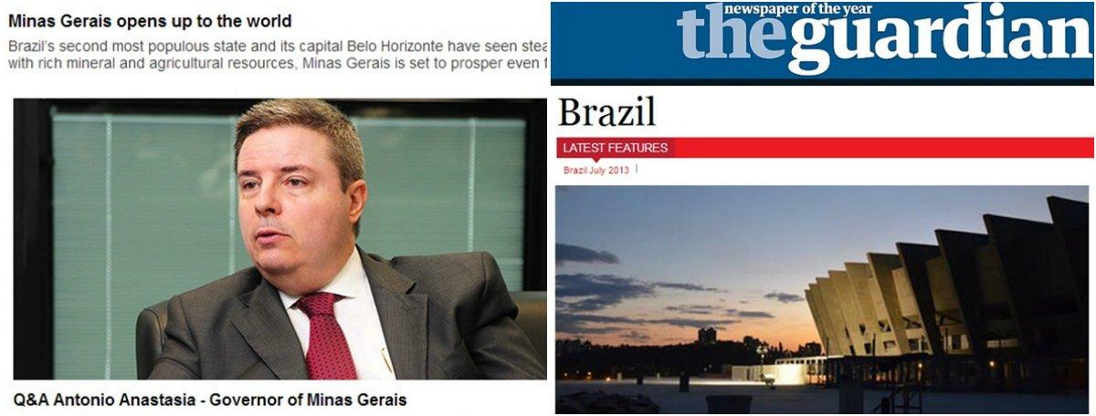 Guardian destaca potencial econômico de MG