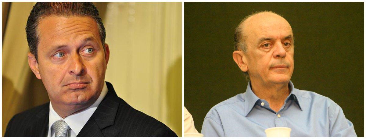 Eduardo Campos apoia Serra no PPS de Freire