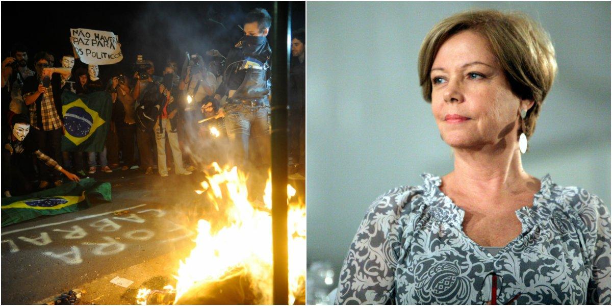 """Eliane condena """"democratice"""" da polícia do Rio"""
