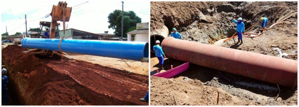 Anápolis: Governo investe quase R$ 255 mi em esgoto